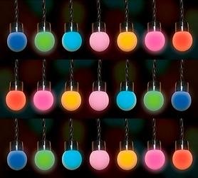 Гирлянда для искусственных деревьев Edelman Luca мультицветная 4,9 м