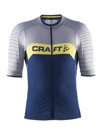 Велофутболка мужская Craft Gran Fondo Jersey M Deep/Grey Melange/Vega