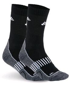 Комплект термоносков унисекс Craft Active Training 2-Pack Sock black