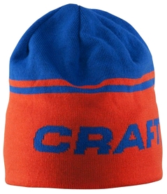 Шапка спортивная унисекс Craft Logo Hat blue