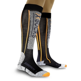 Термоноски лыжные унисекс X-Socks Ski Adrenalin Sinofit black-orange