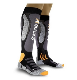 Термоноски лыжные унисекс X-Socks Ski Touring Sinofit black-anthracite