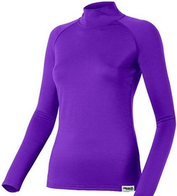 Термофутболка женская Reusch Yangra T-Shirt Long Sleeves 160g violet