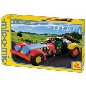 Фото 2 к товару Конструктор Mic-o-Mic Sports Car спортивный автомобиль