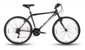 """Велосипед подростковый горный Pride XC-1.0 26"""" 2016 черно-белый матовый, рама - 15"""""""