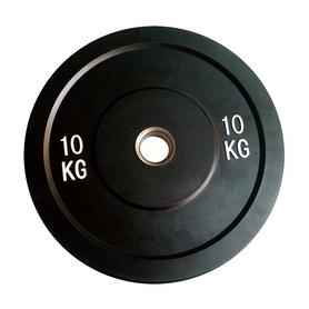 Диск бамперный олимпийский 10 кг Rising PL37-10 - 52 мм