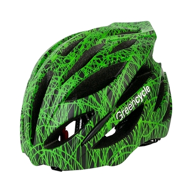 Велошлем Green Cycle Alleycat green