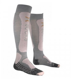 Носки женские X-Socks Skiing Lady Comfort Supersoft серые