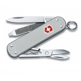 Нож швейцарский Victorinox Classic Alox серебристый