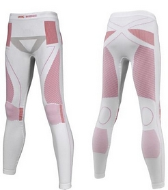 Термокальсоны женские X-Bionic Extra Warm Lady Pants Long white/pink
