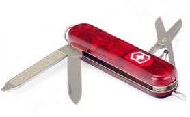 Нож швейцарский Victorinox Signature Lite красный