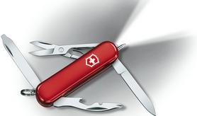 Нож швейцарский Victorinox Midnite Manager красный