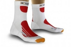 Термоноски унисекс X-Socks Skating Pro White/Red