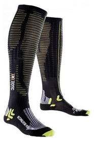 Термоноски унисекс X-Socks Effector xbs Performance Black/Acid Green