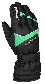 Перчатки горнолыжные Reusch Powder Peak R-Tex XT зеленые