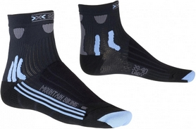 Термоноски женские X-Socks MTB Lady Black/Sky Blue