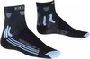 Термоноски женские X-Socks MTB Lady Black/Sky Blue - фото 1