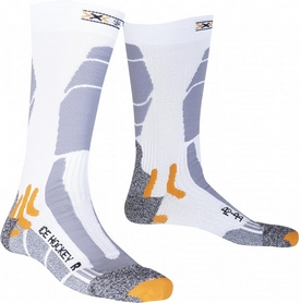 Термоноски унисекс X-Socks Ice Hockey Short White/Grey