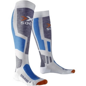 Термоноски унисекс X-Socks Snowboard Antracite/Azure