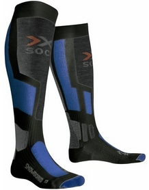 Термоноски унисекс X-Socks Snowboard Antracite/Blue