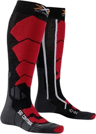 Термоноски унисекс X-Socks Ski Control Anthracite/Red