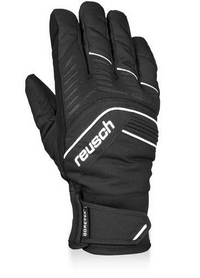 Перчатки горнолыжные мужские Reusch Linus GTX black/white