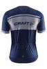 Велофутболка мужская Craft Classic Logo Jersey синяя - фото 2