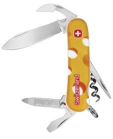 Нож швейцарский Wenger 1 10 09 911 P1 желтый