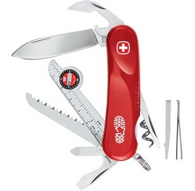 Нож швейцарский Wenger Evolution 12 красный