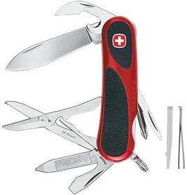 Нож швейцарский Wenger Evogrip 16 красно-черный