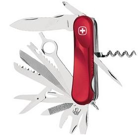 Нож швейцарский Wenger Evolution 28 красный