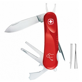 Нож швейцарский Wenger Evolution Golfer красный