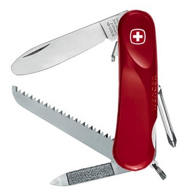 Нож швейцарский Wenger Junior 9 красный
