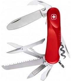 Нож швейцарский Wenger Junior 3 красный