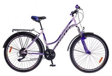 Велосипед городской Formula Omega AM 14G Vbr St с багажником 26
