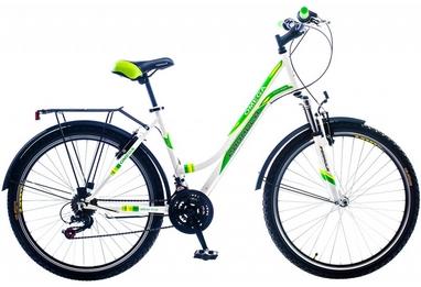 Велосипед городской женский Formula Omega AM 14G Vbr St с багажником 26