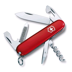 Нож швейцарский Victorinox Sportsman 84 мм красный