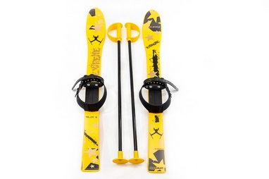 Лыжи детские Marmat Extreme Sport Junior 90 см желтые
