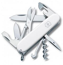 Нож швейцарский Victorinox Climber 91 мм белый