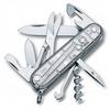 Нож швейцарский Victorinox Climber 91 мм серый/прозрачный - фото 1