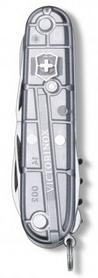Фото 3 к товару Нож швейцарский Victorinox Climber 91 мм серый/прозрачный
