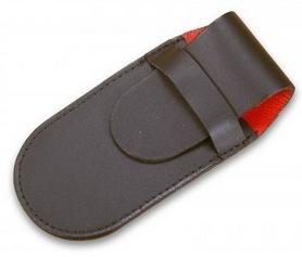 Чехол для складных ножей Victorinox кожаный чёрный - 2-4 слоя