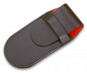 Чехол для складных ножей Victorinox кожаный чёрный - 5-7 слоев
