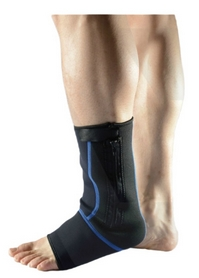 Суппорт голеностопа Live UP Ankle Support Black