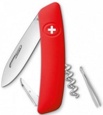 Нож швейцарский Swiza D01 красный