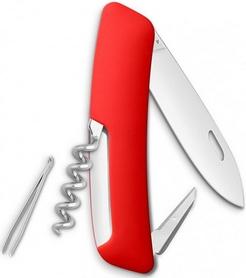 Фото 2 к товару Нож швейцарский Swiza D01 красный