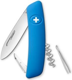 Нож швейцарский Swiza D01 синий