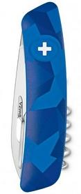 Фото 2 к товару Нож швейцарский Swiza C01 Livor синий