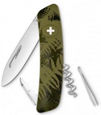 Нож швейцарский Swiza C01 Silva хаки