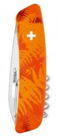 Фото 2 к товару Нож швейцарский Swiza C01 Filix оранжевый